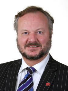 Peter N. Myhre tror at Arbeiderpartiet brukte svineinfluensaen til å vinne valget. FOTO: Stortinget