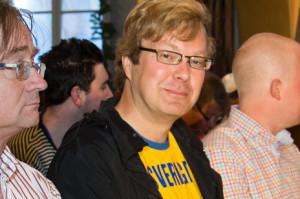 Thord Brynielsson driver valgkamp mot eget parti. FOTO: David Lagerlöf, expo.se