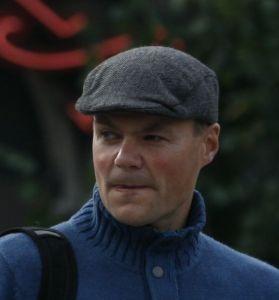 Jan Holthe, her fotografert på en demonstrasjon i regi av SIAN i 2012.