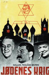 Jødenes krig kan beskrives som Halldis Nergård Østbyes antisemittiske hovedverk.