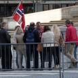 Til tross for at de hadde en måned til mobilisering, samlet PEGIA kun 12 personer til dagens marsj i Oslo.