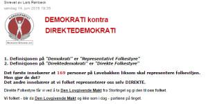 direktedemokrati
